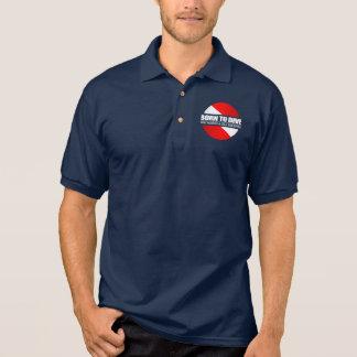Born To Dive (rd) Polo Shirt