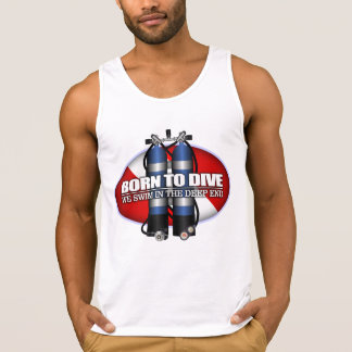 Born To Dive (ST) Singlet