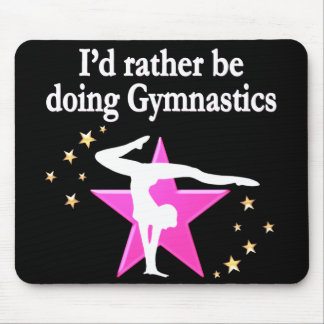 BORN TO DO GYMNASTICS MOUSE PAD