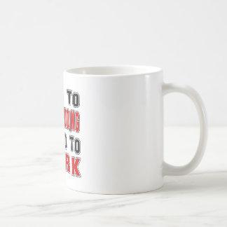 Born to Dog Sledding forced to work Mug