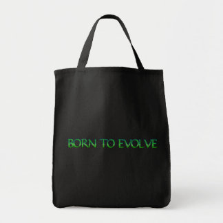 Born to Evolve Tote Bag