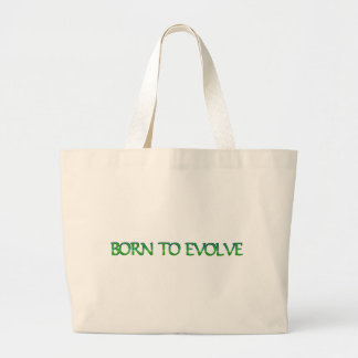 Born to Evolve Tote Bags