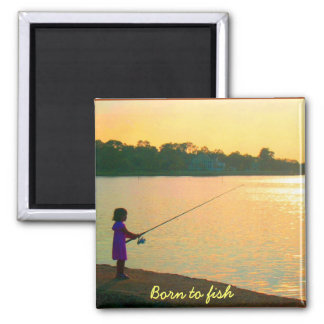 Born to Fish Magnet