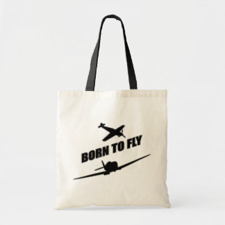 Born To Fly Budget Tote Bag