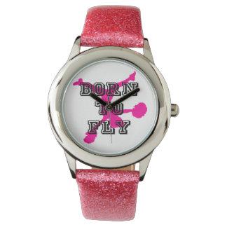 Born to Fly cheerleader Wristwatches