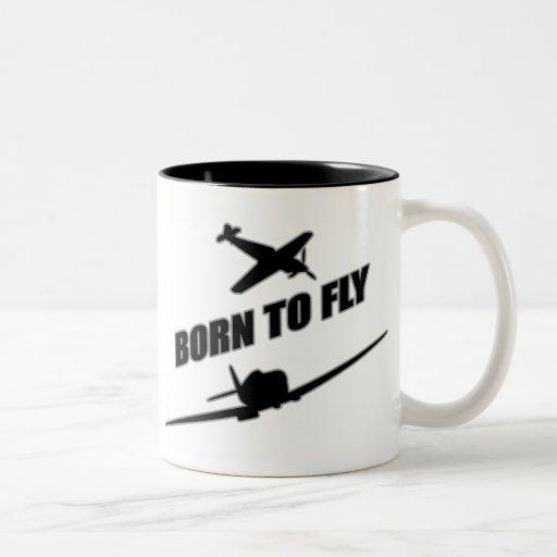 Born To Fly Coffee Mugs