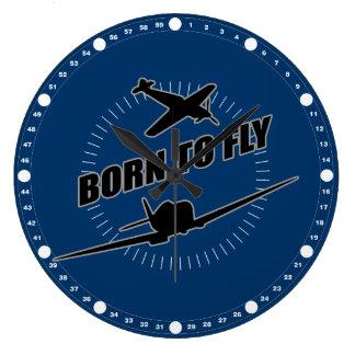 Born To Fly Wallclock