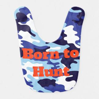 Born to Hunt Future Hunter Camo Army Colours Bib