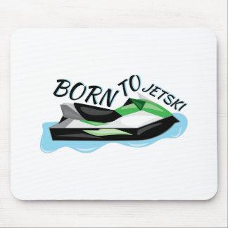Born To Jet Ski Mouse Pad