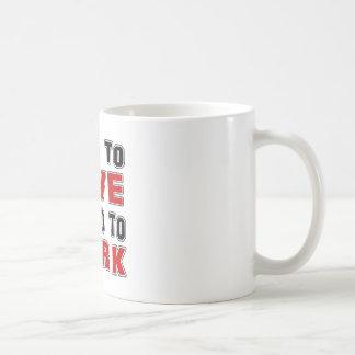 Born to Jive forced to work Coffee Mugs