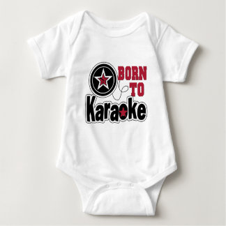 Born to Karaoke Star Baby Bodysuit