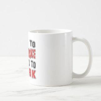 Born to Modern Dance forced to work Coffee Mug