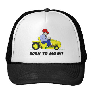 Born To Mow Cap