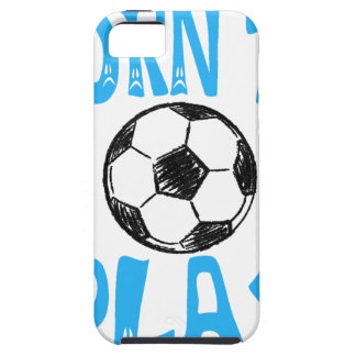 born to play football iPhone 5 cases