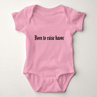 Born to raise havoc baby bodysuit