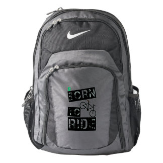 born to ride backpack