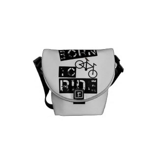 born to ride courier bags