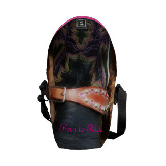 Born to Ride Courier Bag