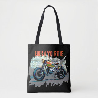 Born to Ride Motorcycle Tote