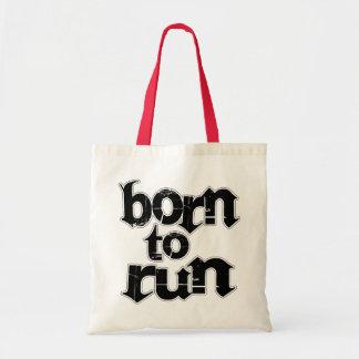 Born To Run Canvas Bag