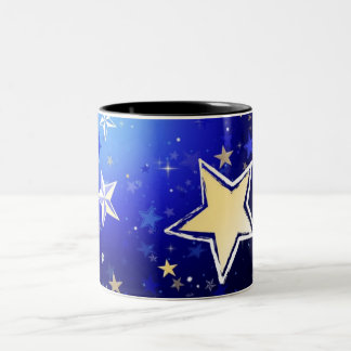 Born to Shine Two-Tone Coffee Mug