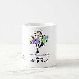 Born to shop - Anita Shopping Trip Coffee Mug