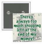 Born to Shop Pin