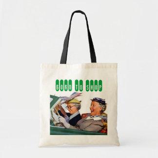 Born To SHOP Canvas Bag