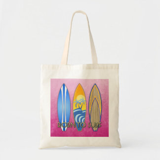 Born To Surf Canvas Bag