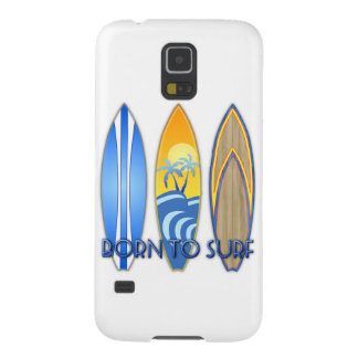 Born To Surf Galaxy S5 Cases
