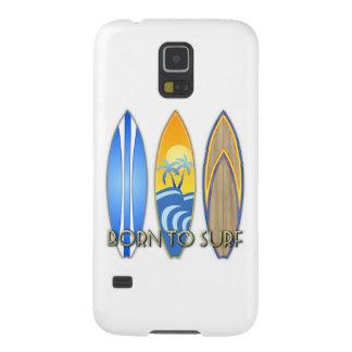 Born To Surf Galaxy S5 Case