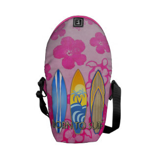 Born To Surf Commuter Bag