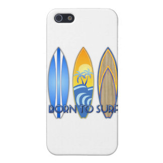 Born To Surf Cases For iPhone 5