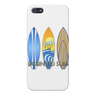 Born To Surf iPhone 5 Cases