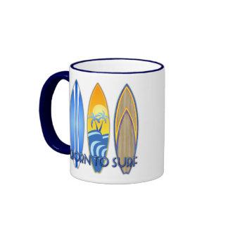 Born To Surf Coffee Mugs