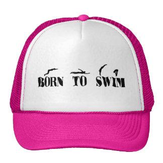 Born To Swim Cap