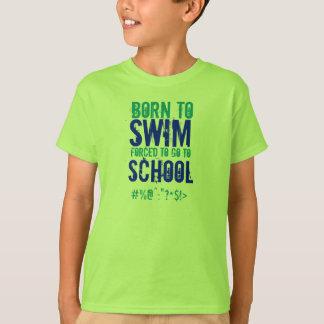 Born To Swim - Kids T-Shirt