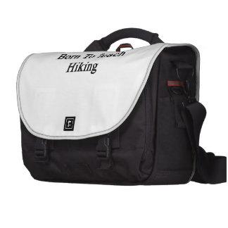 Born To Teach Hiking Laptop Messenger Bag