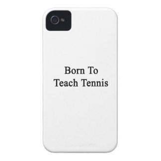 Born To Teach Tennis iPhone 4 Case-Mate Case