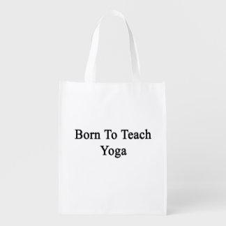 Born To Teach Yoga Market Tote