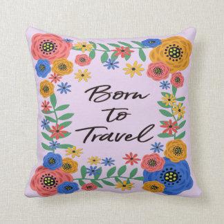 Born To Travel Cushion