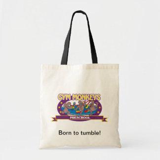 Born to tumble gym monkey bag