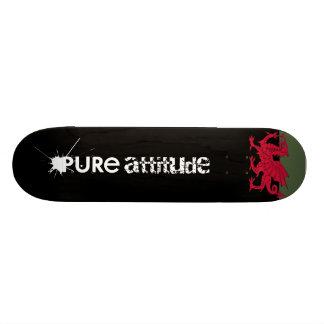 Born Welsh Poem with Dragon Skateboard Deck