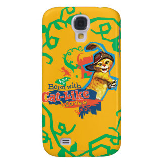 Born With Cat-Like Moves Samsung Galaxy S4 Covers