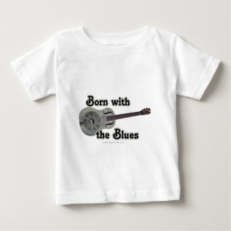 Born With The Blues Baby T-Shirt