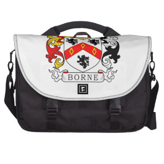Borne Coat of Arms IV Laptop Bags