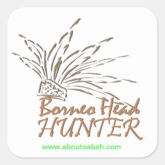 Borneo Headhunter Sticker