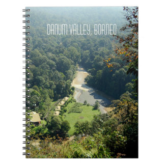 Borneo Rainforest Jungle Aerial View Souvenir Notebook