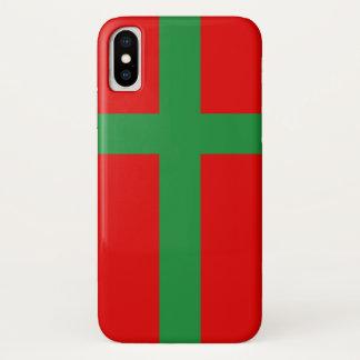 Bornholm Denmark flag region province symbol iPhone X Case