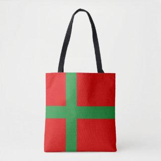 Bornholm Denmark flag region province symbol Tote Bag